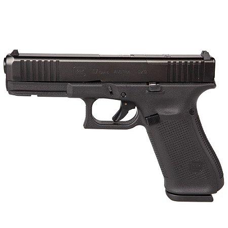 Arma de Fogo Pistola Glock G17 Gen 5 Mos Calibre 9mm