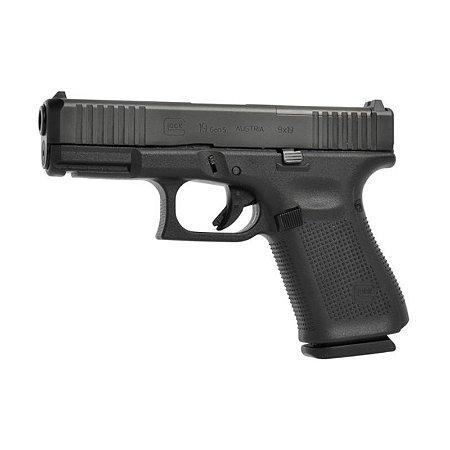 Arma de Fogo Pistola Glock G19 Gen 5 Mos Calibre 9mm