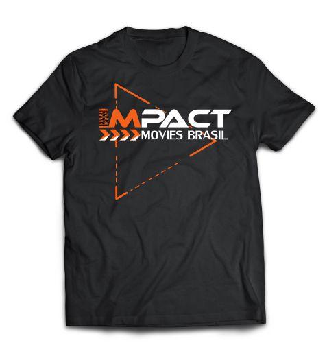 Camiseta Impact Movies Brasil - Play