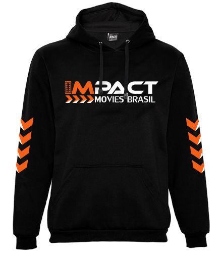 Moletom Impact Movies Brasil - Logo