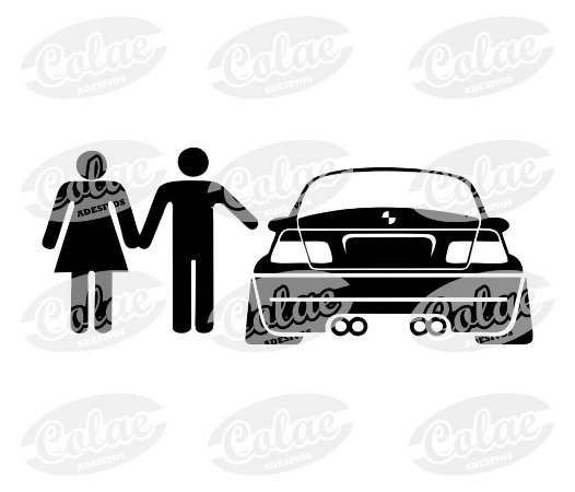 Boy and girl ( 11 x 4 cm )