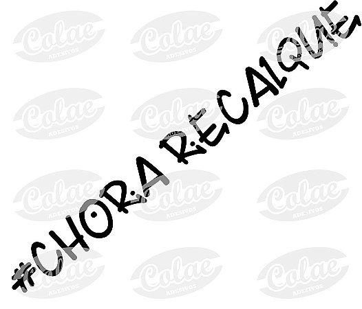 #Chora Recalque