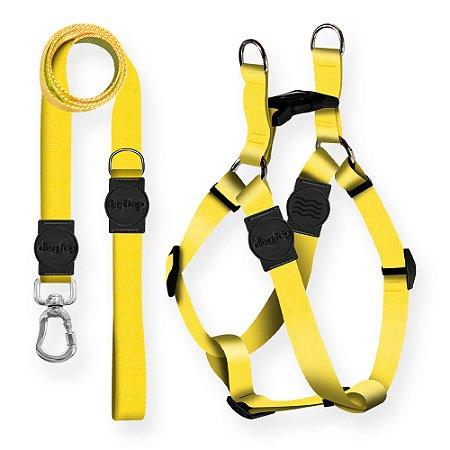Kit Guia Premium + Peitoral Americano Classic Yellow