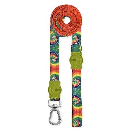Guia Super Longa 5 Metros Peace Tie Dye