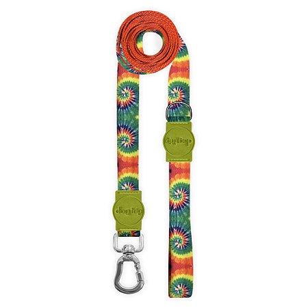 Guia Longa 2 Metros Peace Tie Dye