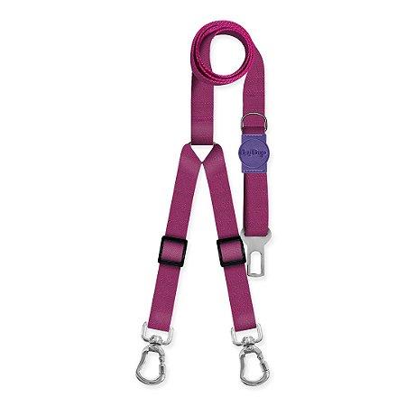 Cinto de Segurança Duplo Classic Purple