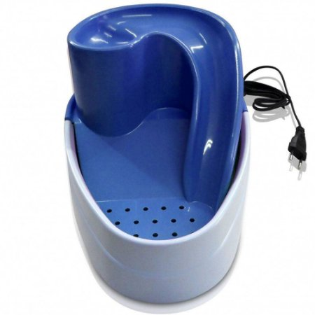 Bebedouro Fonte Cascata Purificador de Água Azul