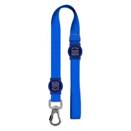 Guia Premium Curta Classic Blue Borracha Azul