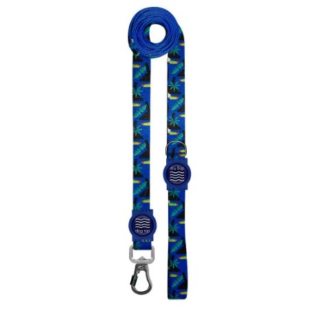 Guia Premium Longa Tucano Azul Borracha Azul