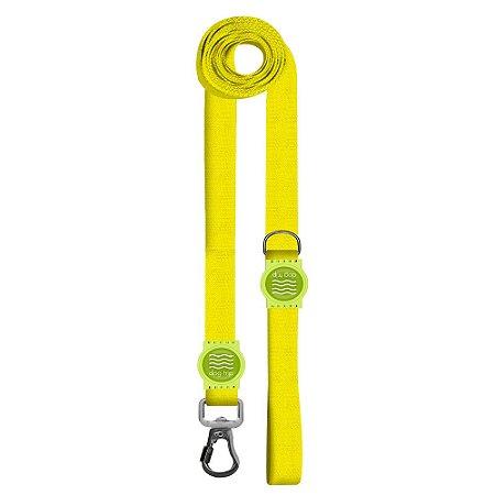 Guia Premium Longa Classic Yellow Borracha Verde