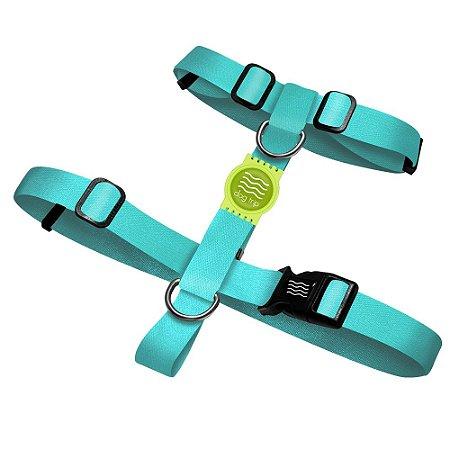 Peitoral Premium Classic Aquamarine Borracha Verde