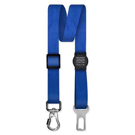 Cinto de Segurança Único Classic Blue Borracha Preta