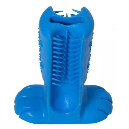 Escova Dental Para Pets Azul