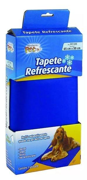Tapete Refrescante Para Pets Azul