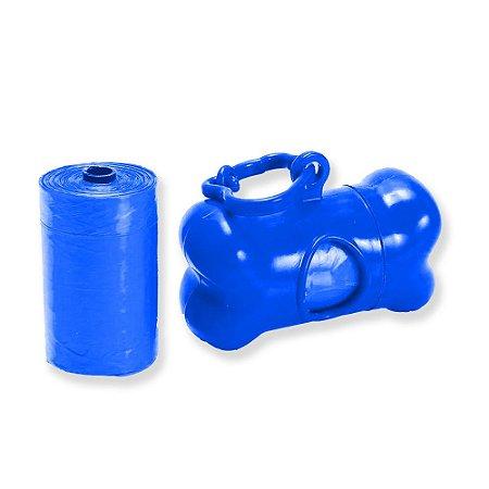 Kit Coletor Com 2 Refis Azul