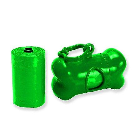 Kit Coletor Com 2 Refis Verde