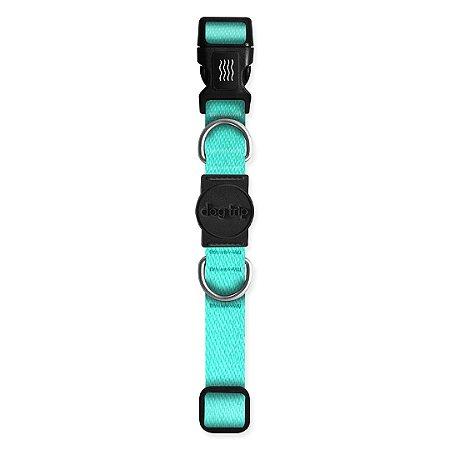 Coleira Premium Classic Aquamarine