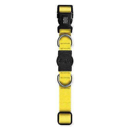 Coleira Premium Classic Yellow