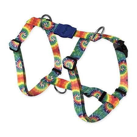Peitoral Smart Peace Tie Dye