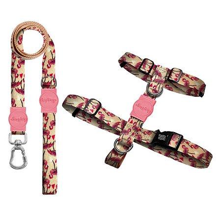 Kit Guia Premium + Peitoral H Flamingo
