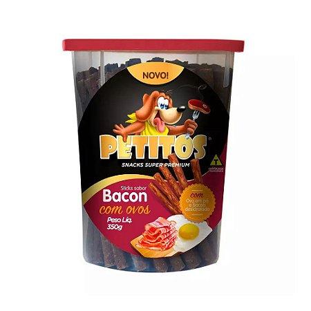 Stick Bacon com Ovos 350G
