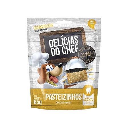 Petisco Snack Delicias do Chef Pasteizinhos 65G