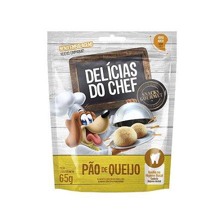 Petisco Snack Delicias do Chef Pão de Queijo 65G