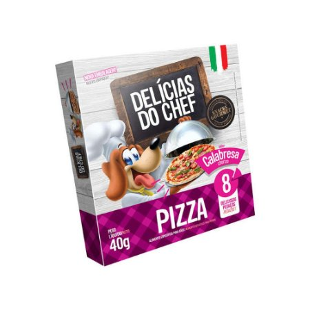 Petisco Snack Delicias do Chef Pizza de Mussarela 40G