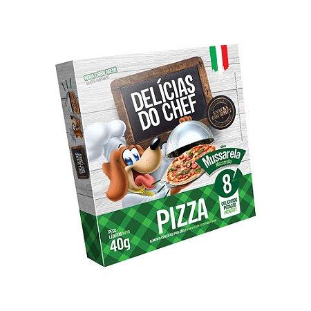 Petisco Snack Delicias do Chef Pizza de Calabresa 40G