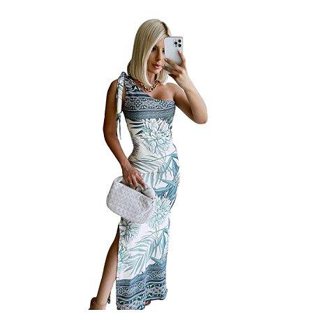 Vestido Feminino Longo Nula Manga
