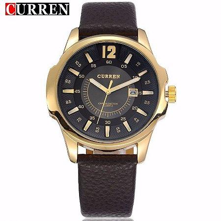 a1511d5c8b7 Relógio Casual Luxo Curren 8123 Quartz Analógico Original ...