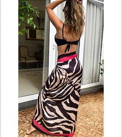 Pareo Zebra Rosa