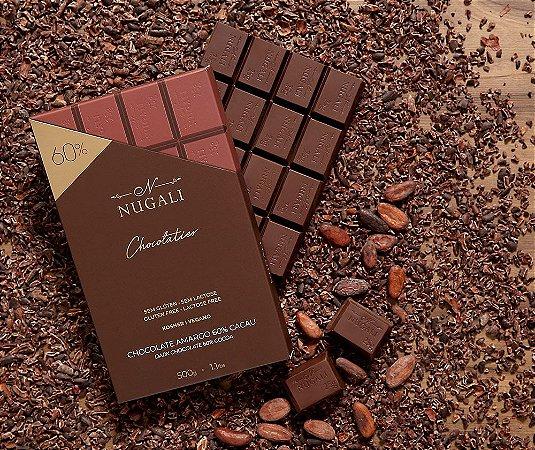 Barra chocolate amargo 60 %