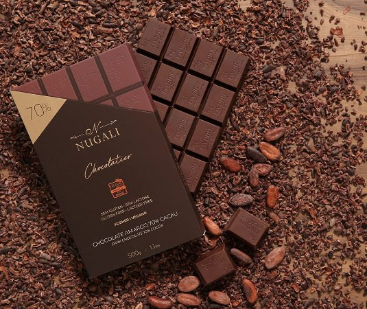Barra chocolate amargo 70 %