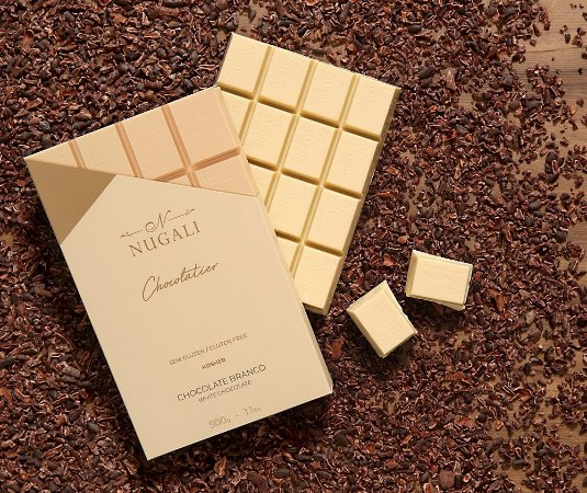 Barra chocolate branco