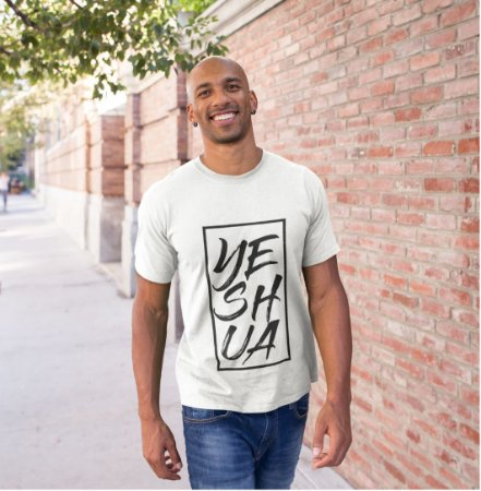 Camiseta Masculina Yeshua Enquadrada