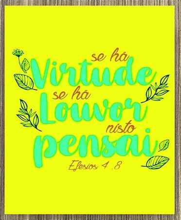 Quadro Decorativo Efésios 4:8