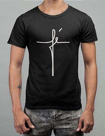 Camiseta Preta Fé