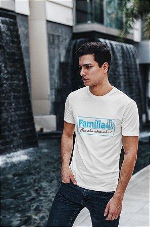 Camiseta Branca Família