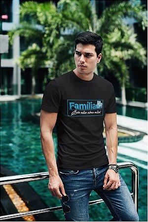 Camiseta Preta Família