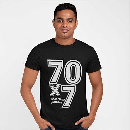 Camiseta Preta 70x7