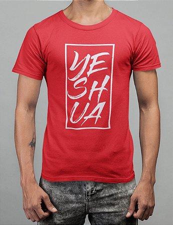 Camiseta Vermelha Yeshua Quadro