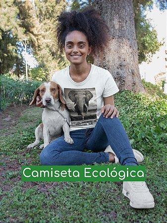 Camiseta Ecológica Branca Vanity - UNISSEX