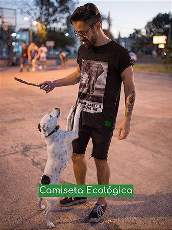 Camiseta Ecológica Preta Vanity - UNISSEX