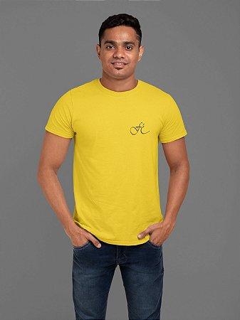 Camiseta Amarela Fé - Peito
