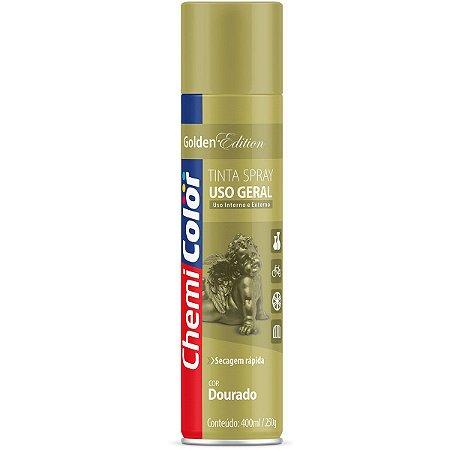 Tinta Spray Chemicolor Uso Geral Dourado 400ml 94