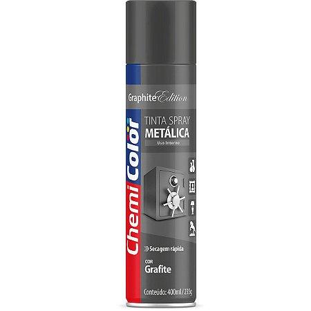 Tinta Spray Chemicolor Metálica Grafite 400ml 137