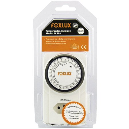 Temporizador Analógico Foxlux Bivolt 60Hz