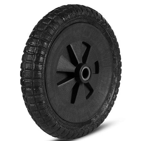 """Roda para Carrinho de Mão Roma Maciça 325 x 65mm 1/2"""" 7035/0"""