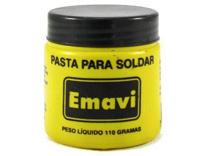 Pasta para Solda Emavi em Pote com 110g
